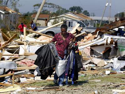 Irene Destruction